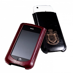 MacLove Leather Case Lucca Classical Black for iPhone 3GS