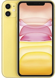 Мобильный телефон  Apple iPhone 11 64GB Dual-Sim (A2223) Yellow