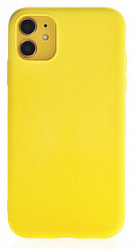 Накладка Silicon Case для Iphone 11 Yellow