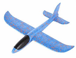 Самолет-бумеранг Foam Airplane Blue
